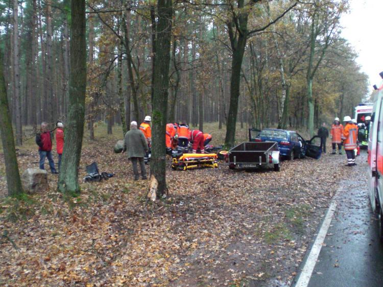 Schwerer Verkehrsunfall in Südkampen - Kreisfeuerwehrverband